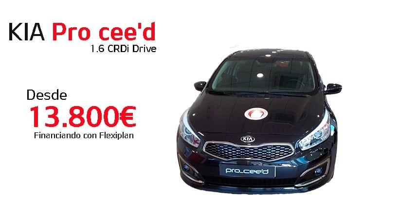 KIA Pro Cee'd 1.6 CRDI Drive precio